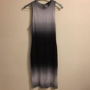 Forever 21 ombré midi dress